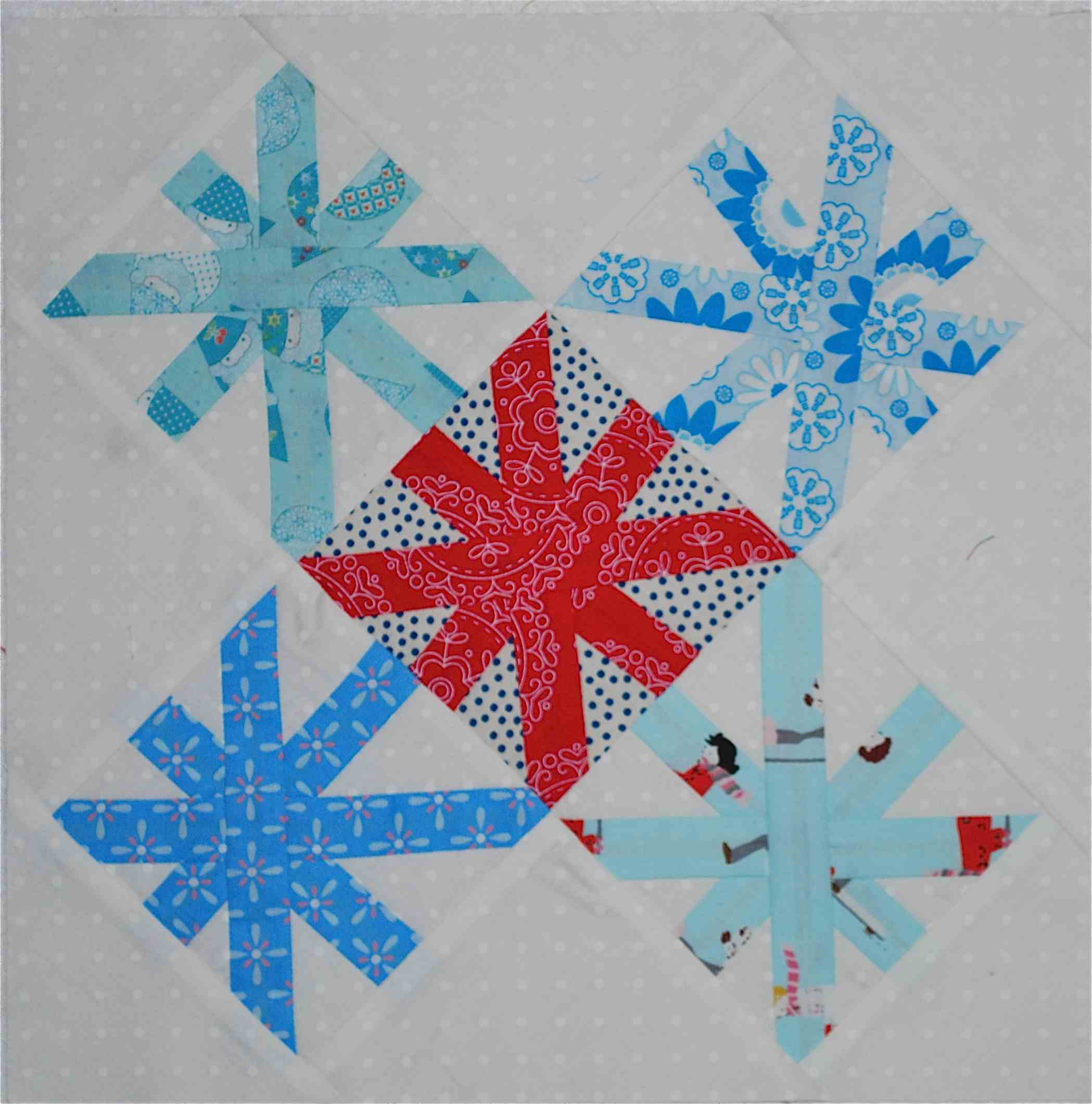Free Christmas Quilt Block Patterns.The Last Piece Free Christmas Quilt Block Pattern