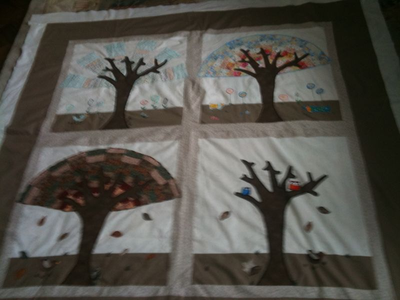 Margaret's Seasons Quilt