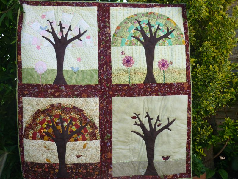 Jackie's Seasons Quilt