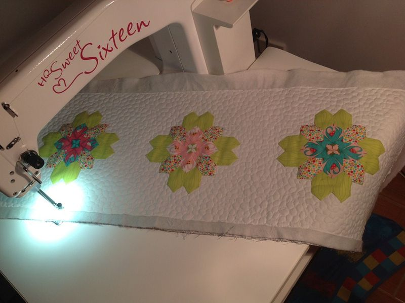 Quilting lillies