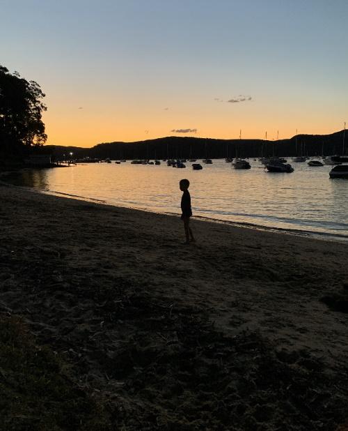 Sarah Fielke sunset